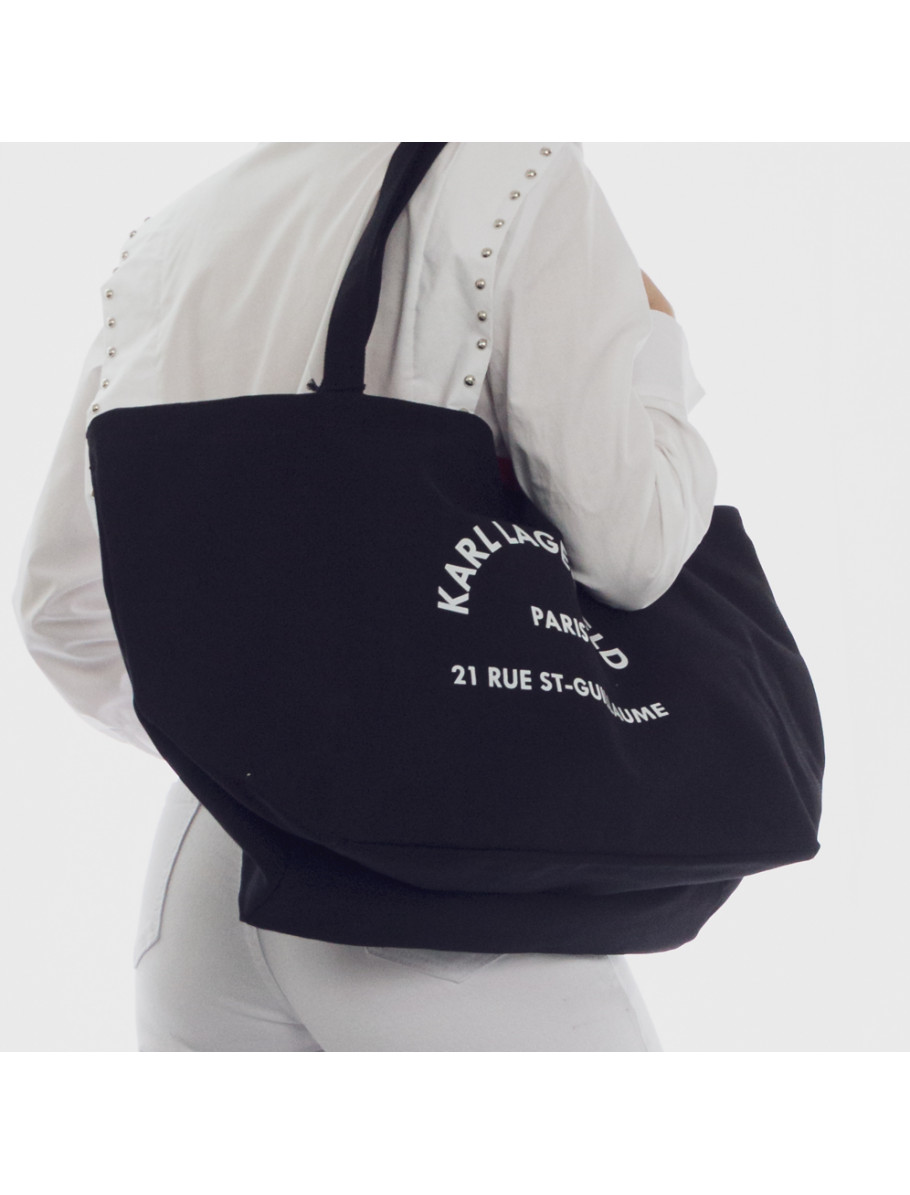 K RUE ST GUILLAUME CANVAS TOTE