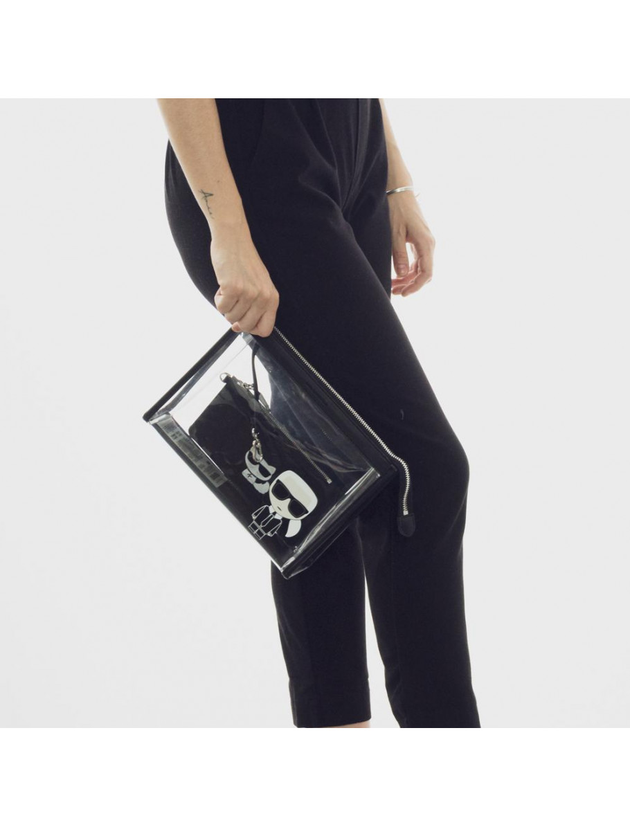 k ikonik transparant pouch
