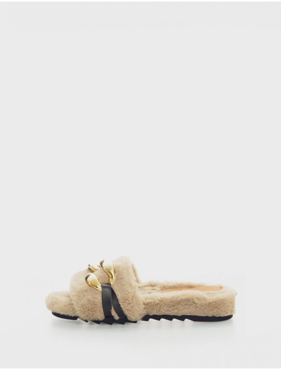 zapatillas de casa MARTINA 3 TAUPE